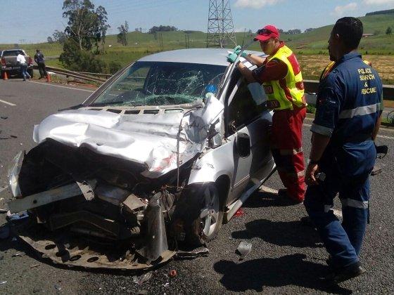 Child killed in horrific N3 Howick crash