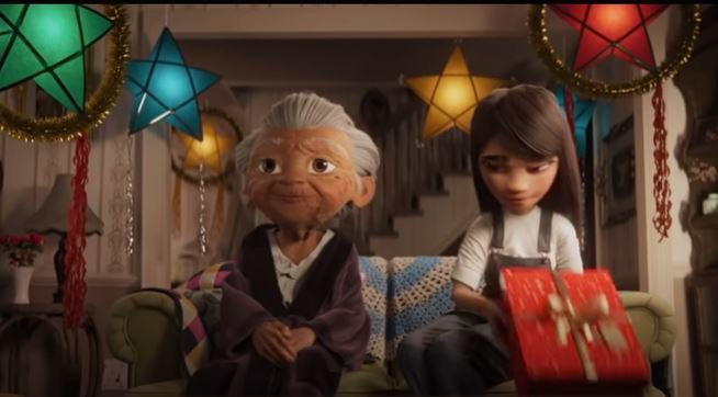 Disney Christmas advert