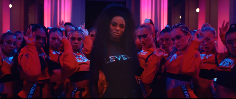 Ciara 'Level Up' video