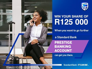 Win your share of R125 000 in the Standard Bank Private & Prestige Payout game on Jacaranda FM
