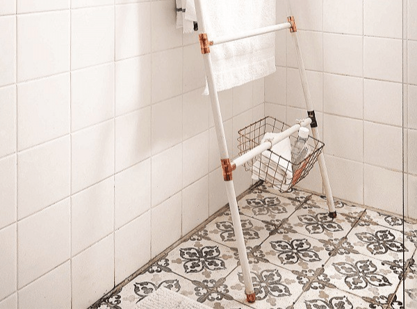 DIY: How to make a copper towel ladder in six easy steps