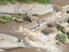 Dusi Canoe Marathon rapids