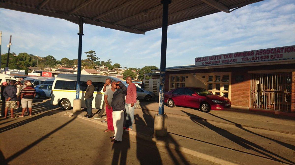 Umlazi taxi strike