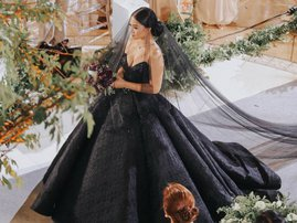 BRIDE IN BLACK