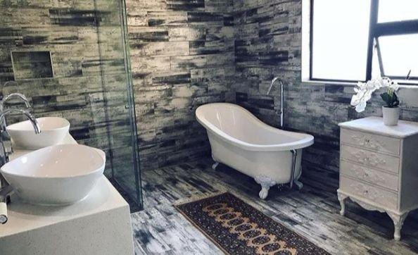 DJ Zinhle house bathroom