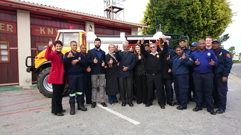 image knysna fire truck image