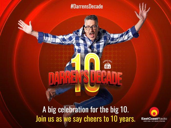 Darren's Decade