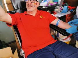 darren donating blood