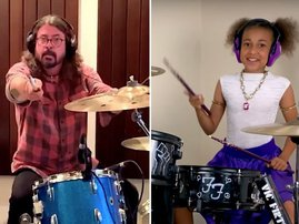 Nandi challenges Dave Grohl