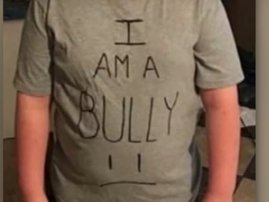 Mother teaches her son a lesson about being a bully/ YouTube