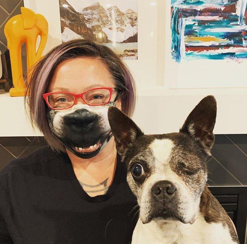 Dog mask