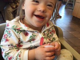Downs Syndrome daughter