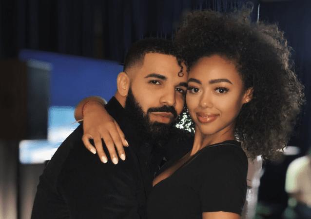 Drake and Bella Harris