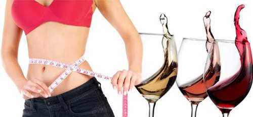 drink wine to lose weight