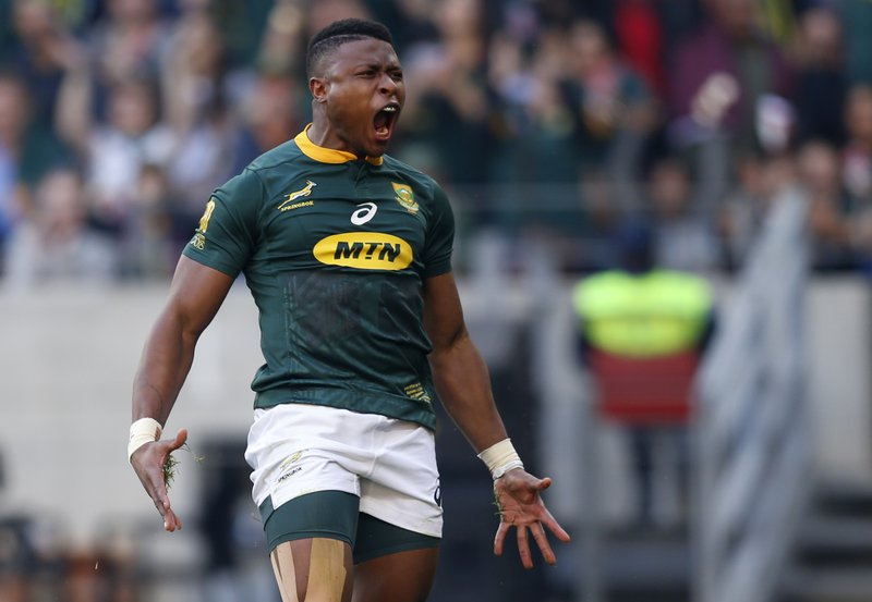 Four-year doping ban for Springbok Dyantyi confirmed