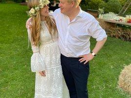 Boris Johnson and Carrie Johnson
