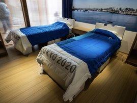 "Tokyo Olympics ""anti-sex"" beds"