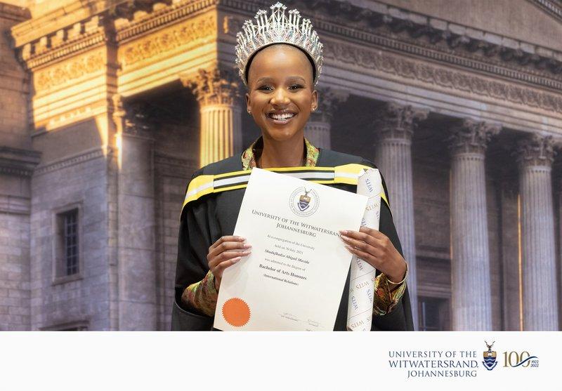 Miss SA Wits Graduation