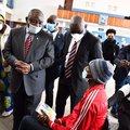 President Cyril Ramaphosa visiting various sites in Gauteng