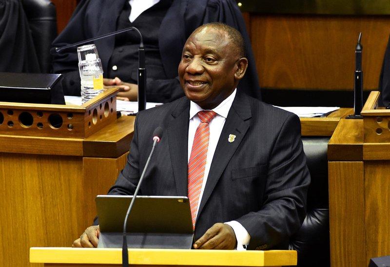 Ramaphosa SONA in parliament