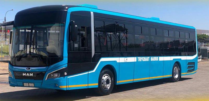 eThekwini bus fleet