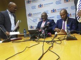 David Makhura and Lebogang Maile
