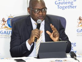 David Makhura urges people to stay out during lockdown