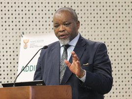 Gwede Mantashe at briefing on covid19 25 March