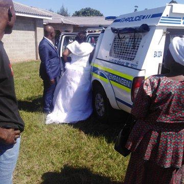 Bridal couple KZN