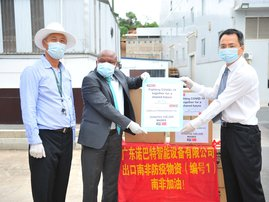 Company donates masks to KZN's essential staff