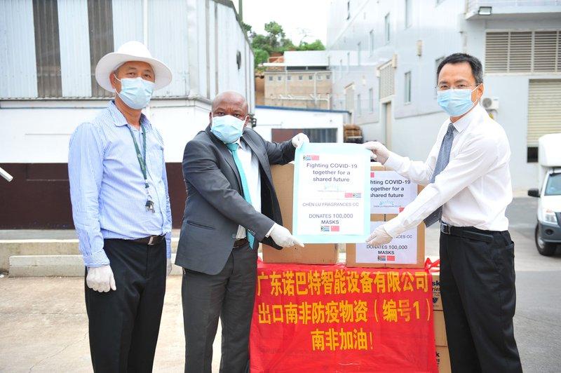 Company donates masks to KZN's essential staff