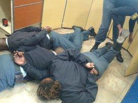 saps arrested for contravening lockdown regulations