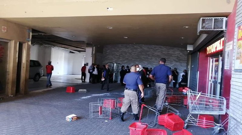 looting of Shoprite in Cape Town
