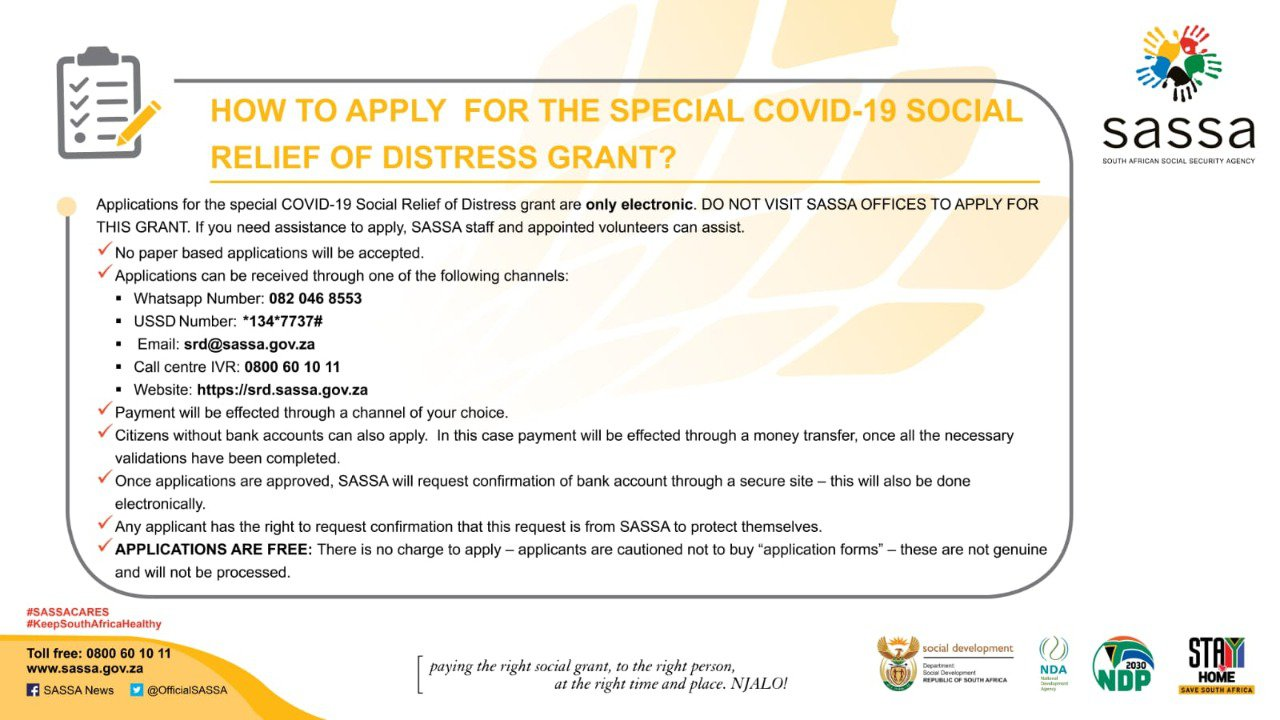 how to apply covid-19 grant