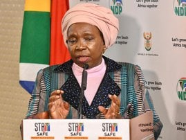 Nkosazana Dlamini-Zuma on Level 3 regulations