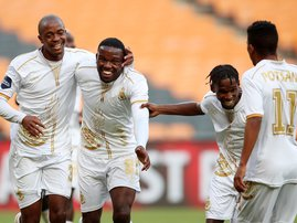 Victor Letsoalo Royal AM win against Kaizer Chiefs