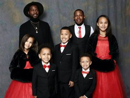 Man adopts 5 siblings