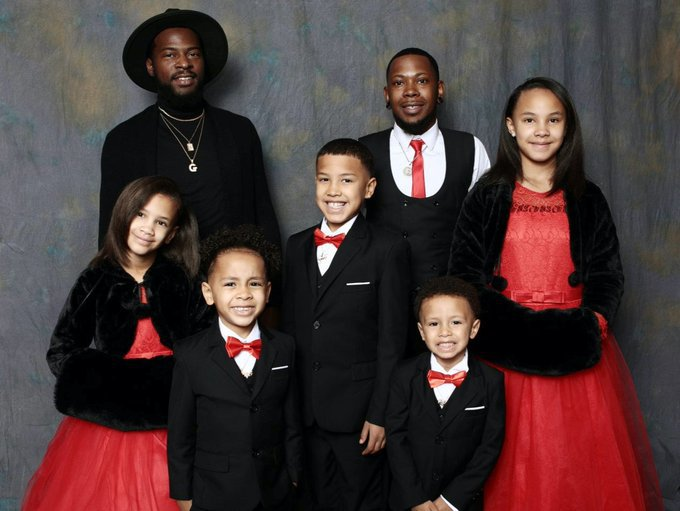 Man adopts 5 siblings