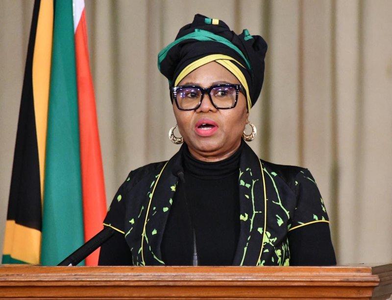 Lindiwe Zulu NCCC media briefing