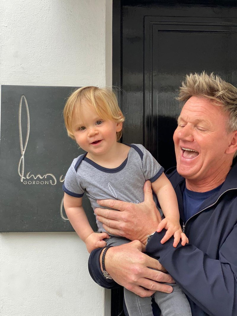 Gordon and son
