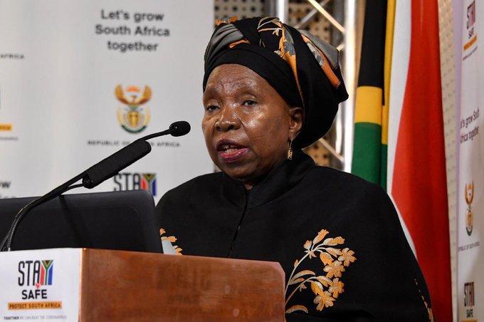 Cogta Minister Nkosazana Dlamini-Zuma NCCC level 2