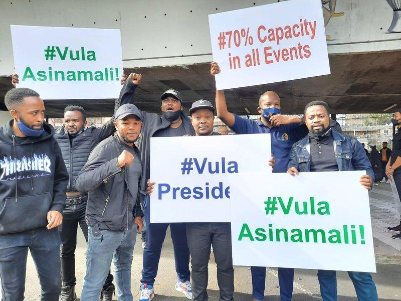 Durban Artist strike