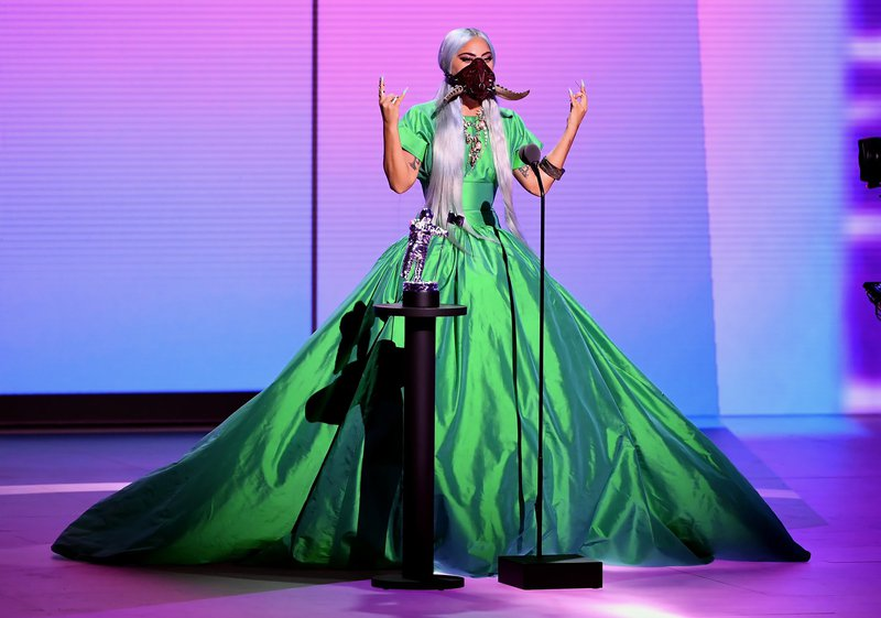 Lady Gaga wins big at  VMAs
