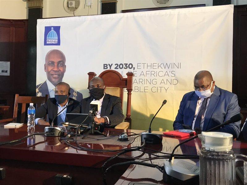 eThekwini Mayor, Mxolisi Kaunda city plan