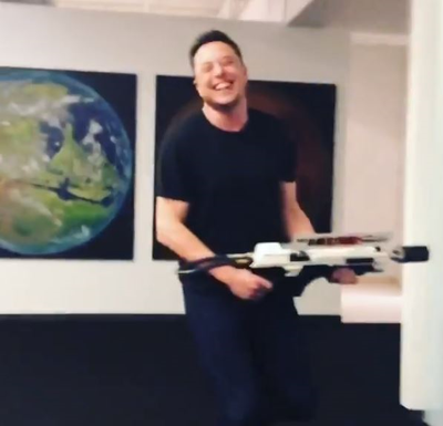 Elon Musk Now In The Flamethrower Business