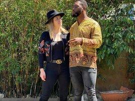 Siya and Rachel Kolisi