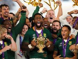 Springboks RWC victory