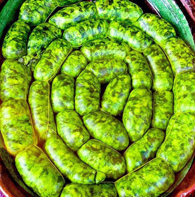 green boerewors