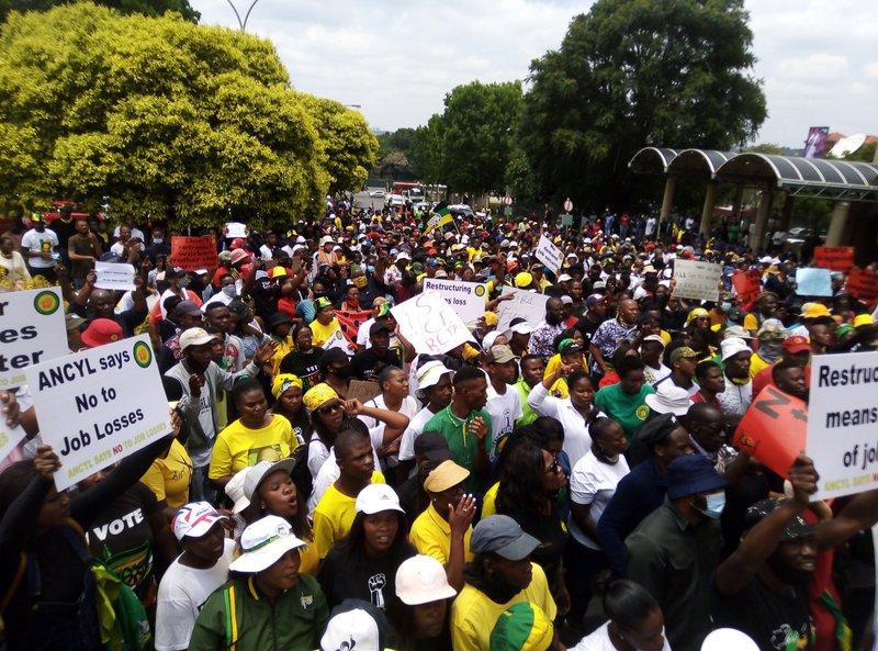 SABC protest