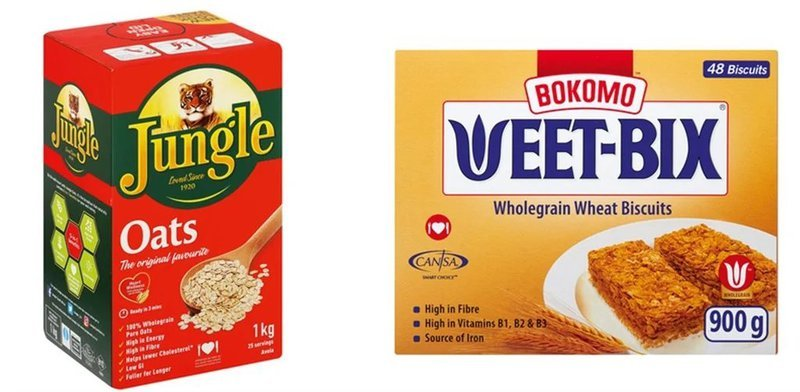 Weetbix vs Jungle Oats